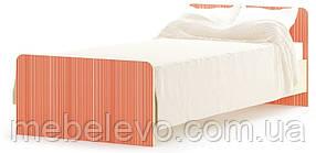 Кровать Симба 900 670х950х2032мм береза   Мебель-Сервис