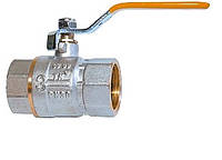 ТК-ГАЗ Г/Г ручка. Латунный шаровой кран для газа (семь витков резьбы)