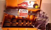 Паяльник плоский (желтый ) APC-10