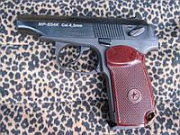 Пистолет МР654К бакелитовая рукоять, потайной винт, удлинённый боёк