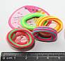 Резинки бесшовные цветной микс набор, фото 2