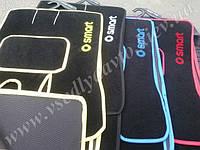 Текстильные коврики для Smart Fortwo 450