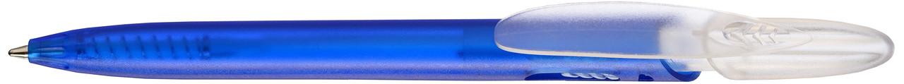 Ручка пластиковая VIVA PENS Rico Bright прозрачно-синяя
