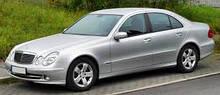 Автоскло на Mercedes w211 / мерседес е 211 (седан, комбі) (2002-2009)
