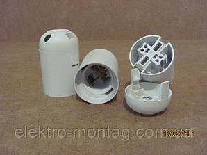 Патрон электрический Е27 (белый)