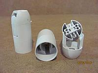Патрон электрический Е14 | миньен белый