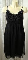 Платье женское нарядное легкое элегантное сарафан мини бренд Zuiki р.40-42 6039