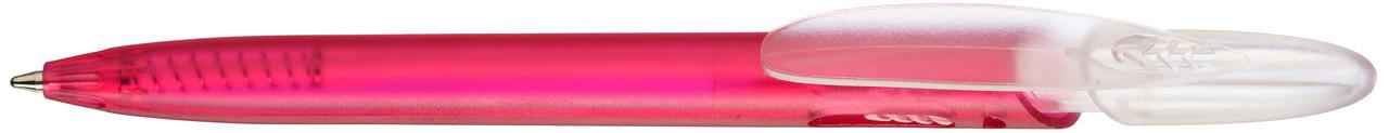 Ручка пластиковая VIVA PENS Rico Bright прозрачно-розовая