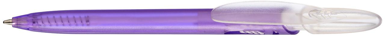 Ручка пластиковая VIVA PENS Rico Bright прозрачно-фиолетовая