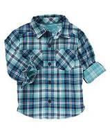Рубашка для мальчика в клетку crazy8 18-24м