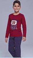 Пижама бардовая 22 FINAL