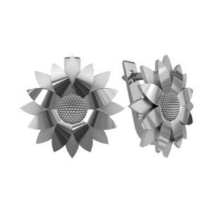 bda291cbfc6f Серьги серебряные Подсолнухи 110 145  продажа, цена в Киевской ...