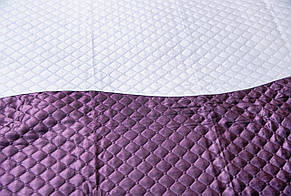 Покривала-плед два кольори, фіолет, фото 2