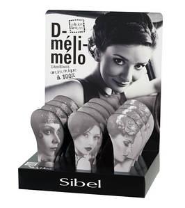 Щітка масажна з нейлоновими зубами D-Meli-Melo Одрі Sibel