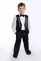 Костюм классический черный для мальчика на выпускной