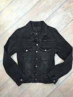 """Куртка джинсовая женская стильная """"Red apple"""" р.S"""
