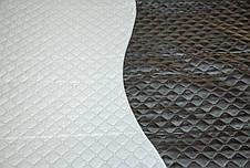 Покривало-плед два кольори, сіре, фото 2