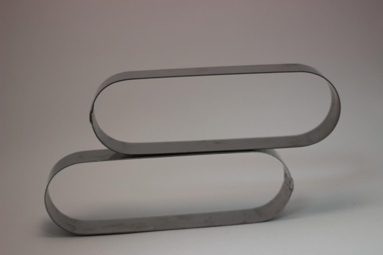 Кольцо для тарта овальное 14*4,5*2см Галетте- 04767