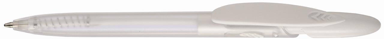 Ручка пластиковая VIVA PENS Rico color bis прозрачно-белая