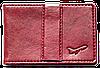 Зажим для денег с отделением для карточек Air (винный), фото 4