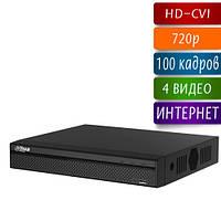 DH-HCVR4104HS-S2 видеорегистратор HD-CVI на 4 камеры 720p
