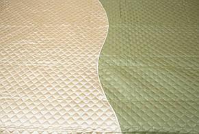 Покривала плед два кольори, оливка, фото 2