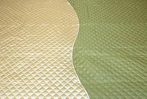 Покрывала плед два цвета, оливка, фото 2