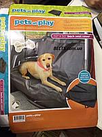 Автомобильный органайзер для собак Pets at Play Back seat cover (чехол, подстилка Петс эт Плэй Бек Сит Кове, фото 1