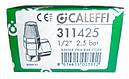 """Клапан предохранительный Caleffi DN 1/2"""" (2,5 бара) для систем отопления (Италия) 311425, фото 3"""