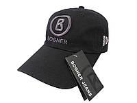 Черная бейсболка BOGNER