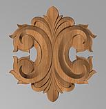 Код ДЦ23. Резной деревянный декор для мебели. Декор центральный, фото 2