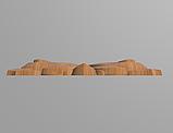 Код ДЦ23. Резной деревянный декор для мебели. Декор центральный, фото 3