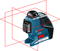 Нивелир лазерный Bosch GLL3-80P + BT250 060106330B, фото 1