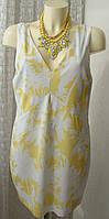 Платье женское летнее модное легкое туника бренд Zara р.48-50 6044
