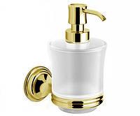 Дозатор для жидкого мыла настенный Langberger Classic Gold 2112221B-PVDG