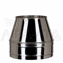 Конус термо дымоходный 0,5 мм н/н AISI 304