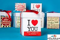 "Печенье с предсказаниями ""I love you"" (7 печений), фото 1"