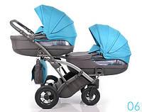 Дитяча коляска для двійні Tako Duo CityMove