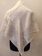Однотонный женский платок