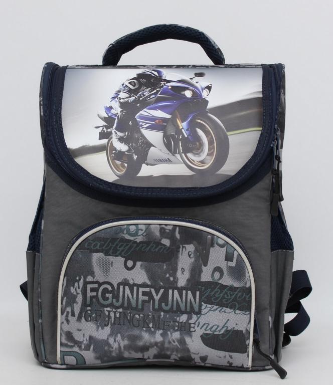 ffd443742ed7 Школьный ранец для мальчика. Каркасный рюкзак. Портфель с ортопедической  спинкой. Удобный рюкзак.