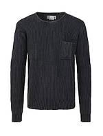 Мужской свитер черный  Nait от !Solid  в размере L