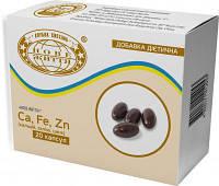 Мягкие капсулы Новая жизнь с Ca, Fe, Zn - способствует росту и развитию костей