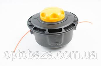 Катушка ( шпуля ) желтая автоматическая для бензиновой косы, фото 2