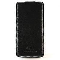 Чехол-книжка для Lenovo S960, Perfektum, вертикальный, натуральная кожа, Черный /flip case/флип кейс /леново