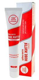 Зубная паста «Новая жизнь» с кальцием