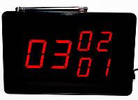 Система вызова персонала, официанта, медперсонала Приемник дисплей табло экран HCM4300