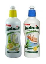 Жидкость для мытья посуды Ludwik Людвик 1л., фото 2