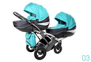 Дитяча коляска для двійні Tako Duo Omega