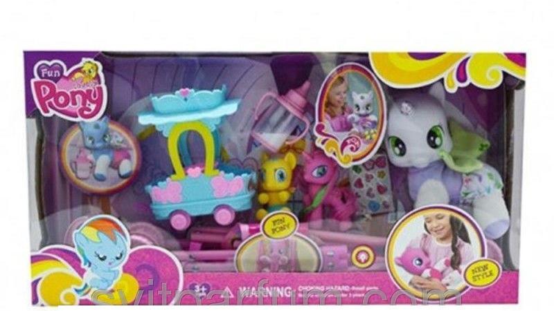Набор игровой My Little Pony Пони с коляской, с аксессуарами, арт.3223В