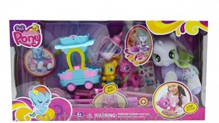 Набор игровой My Little Pony Пони с коляской, с аксессуарами, арт.3223В, фото 2